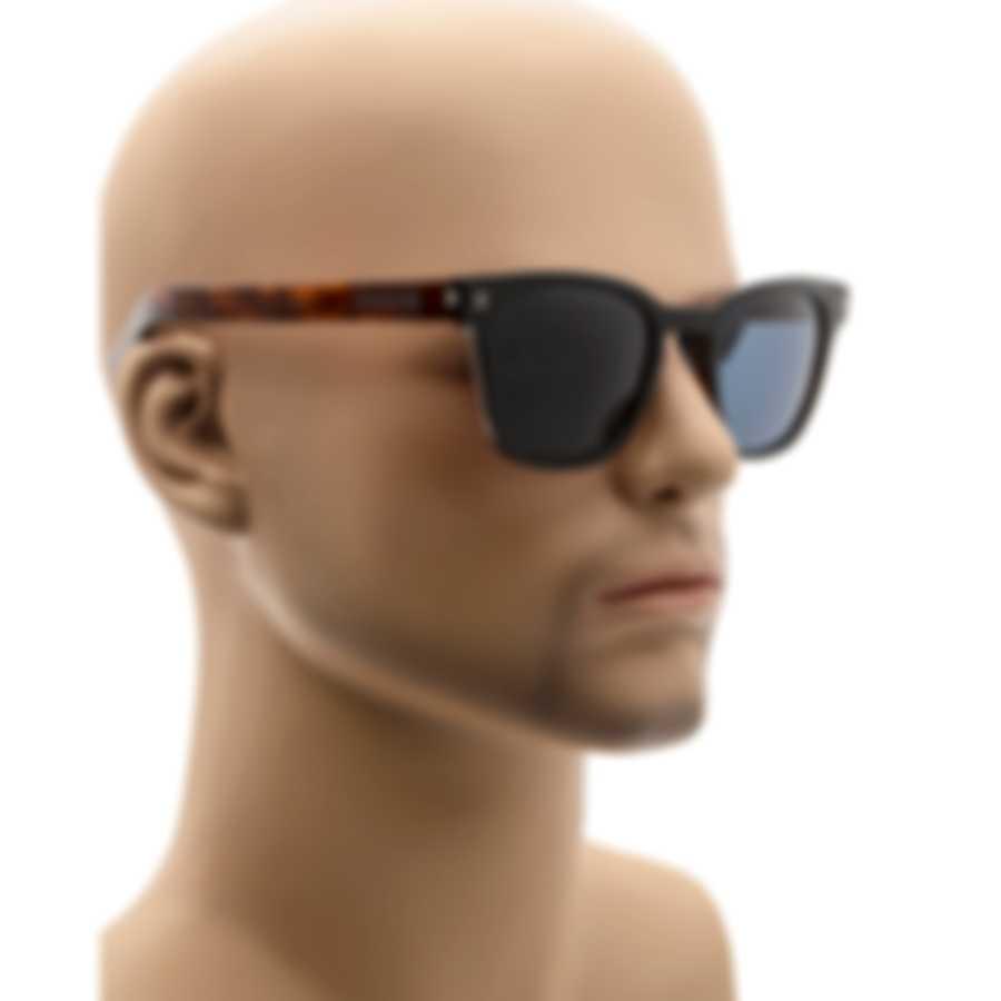 Ermenegildo Zegna Black Tortoise & Blue Sunglasses EZ0125-F-5105V