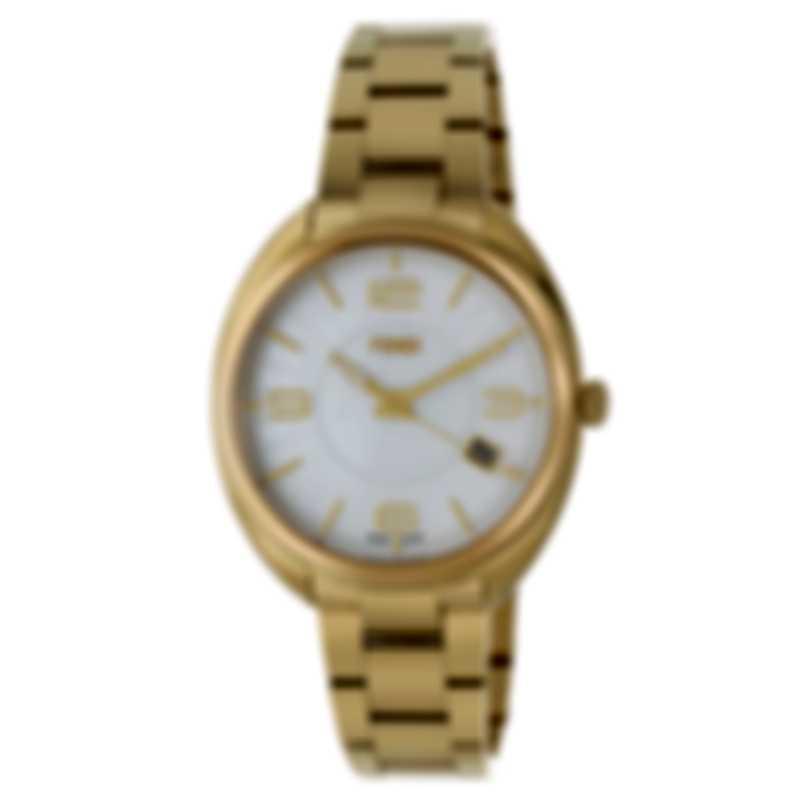 Fendi Momento Mother Of Pearl Quartz Ladies Watch F218434500