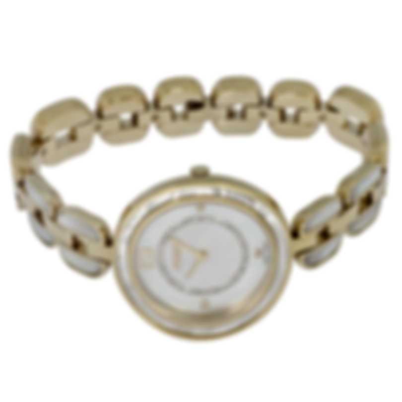 Fendi My Way Diamond Mother Of Pearl Quartz Ladies Watch F361434500D3