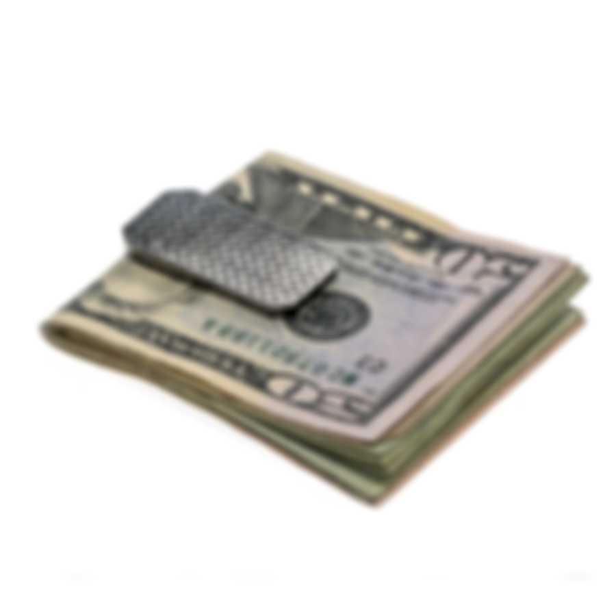 Ferragamo Gancini Sterling Silver Money Clip 703419