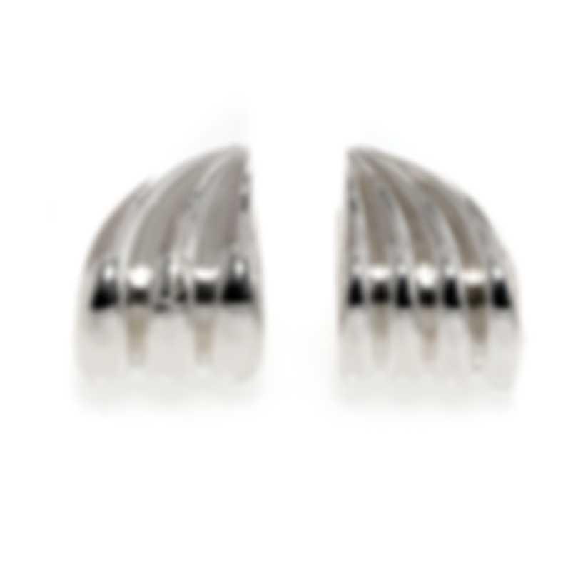 Ferragamo Wedge Sterling Silver Earrings 703426