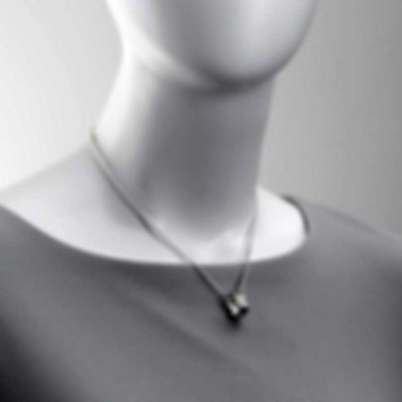 Ferragamo Wedge Sterling Silver Necklace 703434