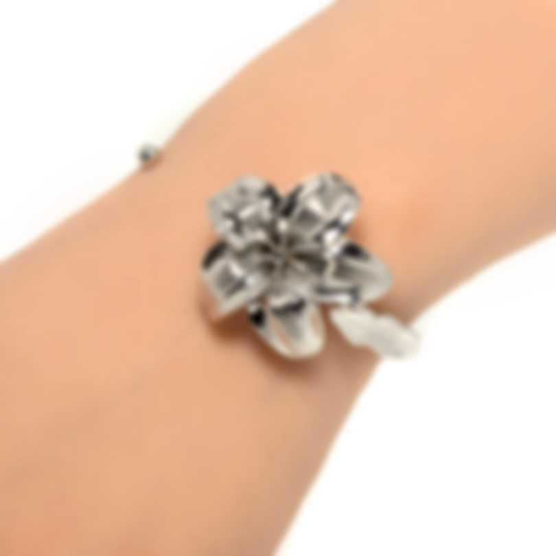 Ferragamo Giglio Sterling Silver Bracelet 703495