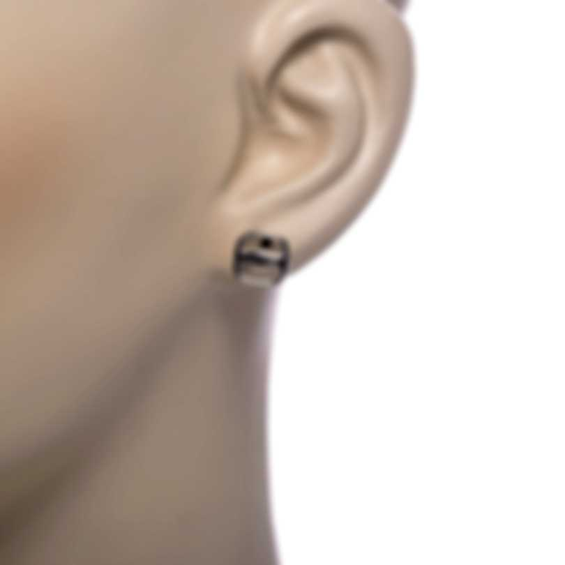 Ferragamo Vara Sterling Silver Earrings 703559