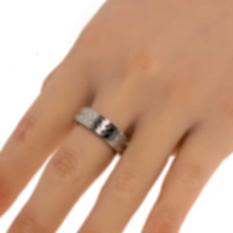 Ferragamo Gancini Sterling Silver Ring Sz 9.5 703383