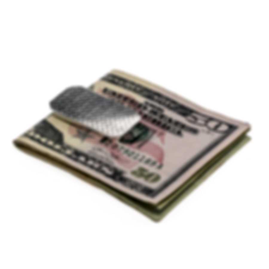 Ferragamo Gancini Sterling Silver Money Clip 703397