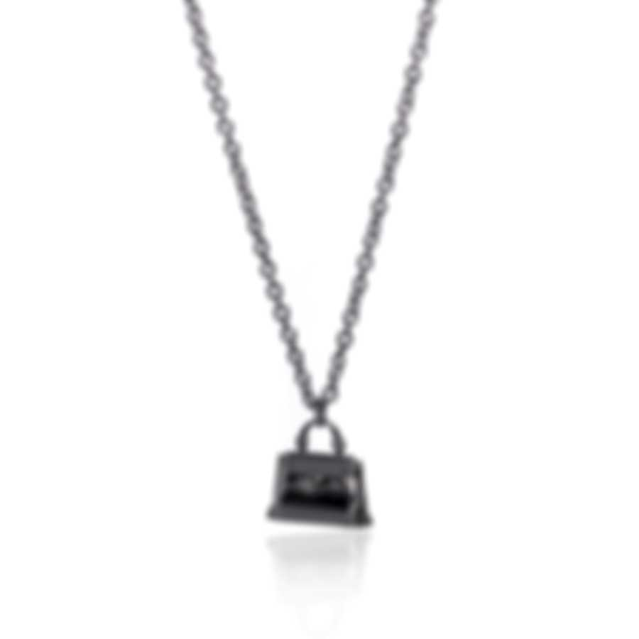 Ferragamo Charms Sterling Silver Necklace 704716