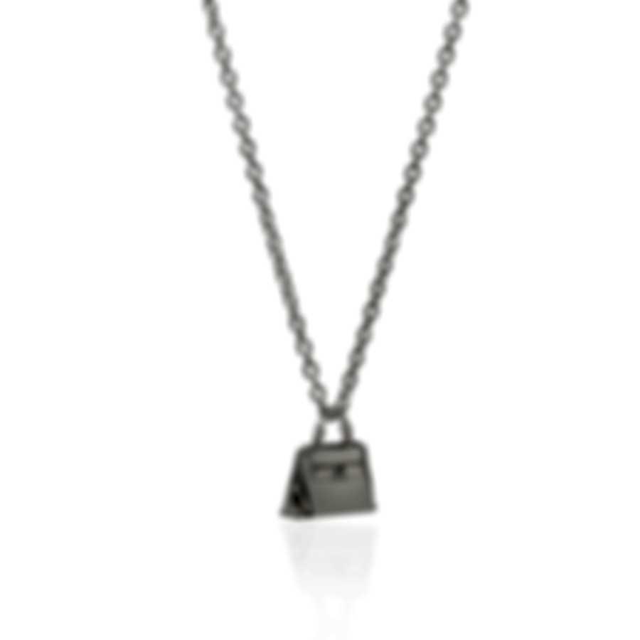 Ferragamo Charms Sterling Silver Necklace 704717