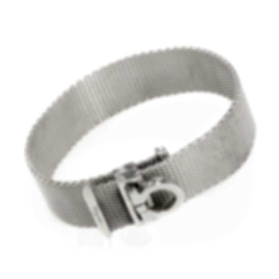 Ferragamo Gancini Sterling Silver Bracelet 704730