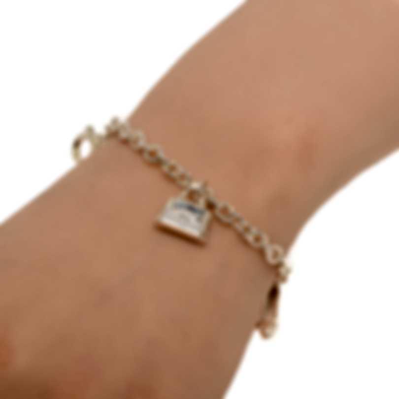 Ferragamo Charms Sterling Silver Bracelet 704735