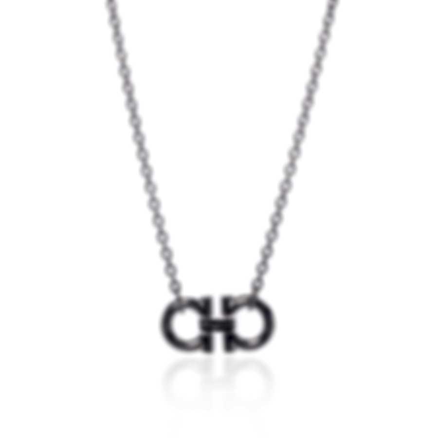 Ferragamo Gancini Sterling Silver Necklace 704151