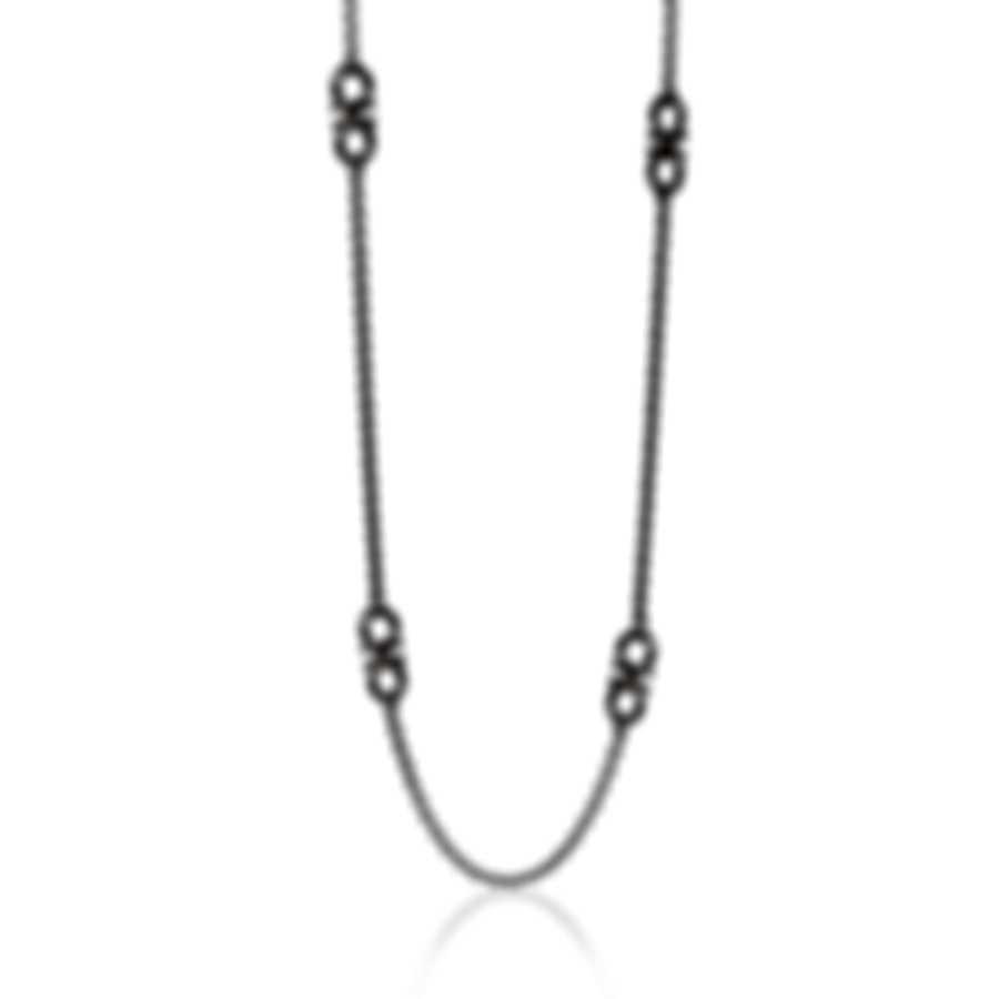 Ferragamo Gancino Sterling Silver Necklace 704155