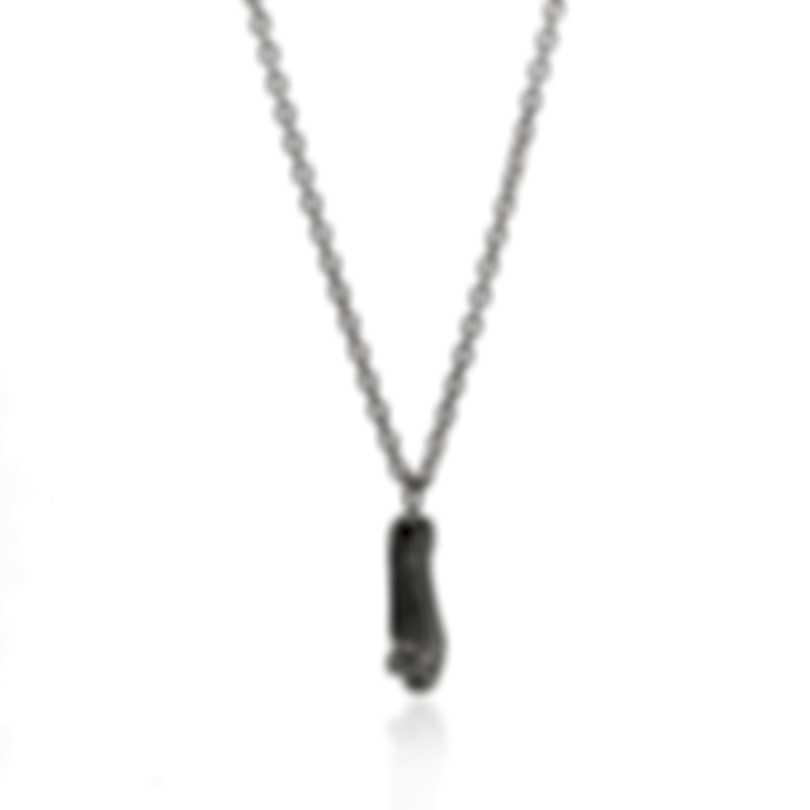 Ferragamo Charms Sterling Silver Necklace 704207