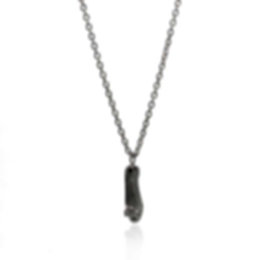 Ferragamo Charms Sterling Silver Necklace 704206