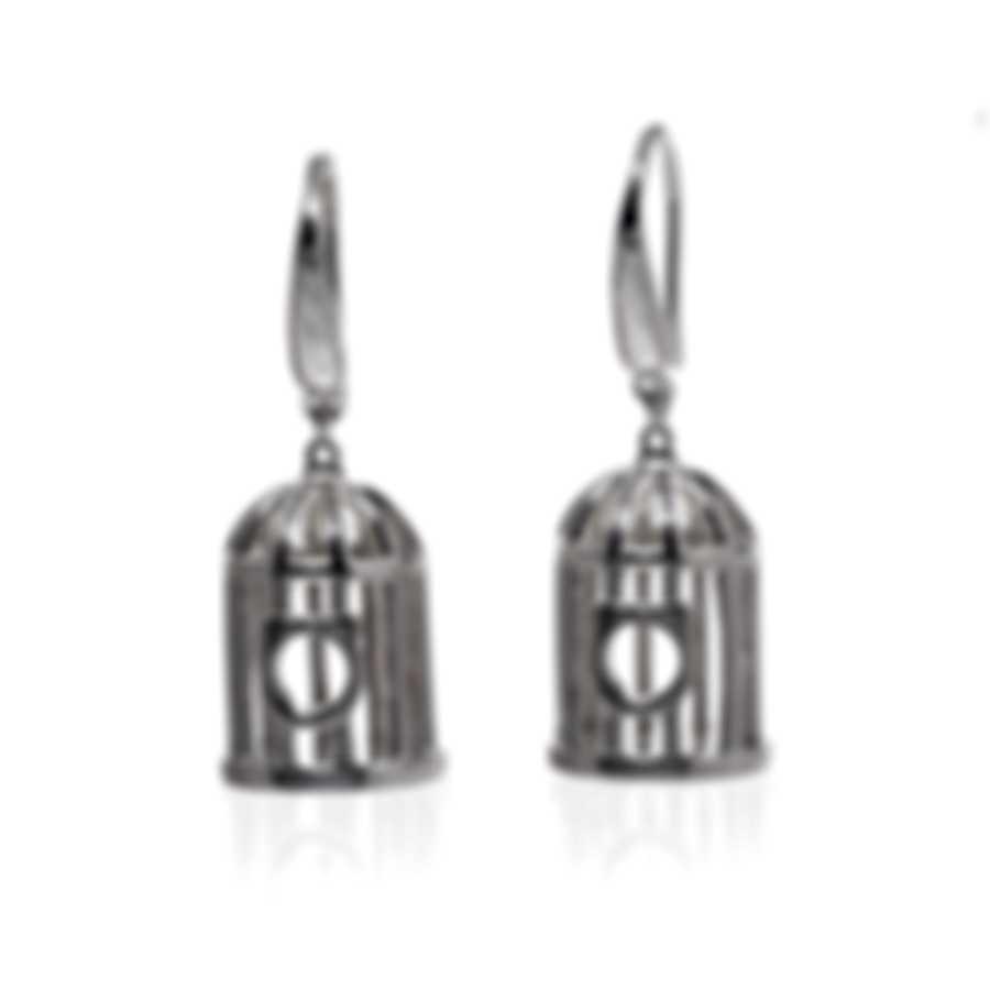 Ferragamo Capsule Libert Sterling Silver Earrings 705105