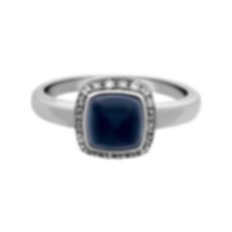 Fred Of Paris Gold Diamond 0.15ct Chalcedony Pain De Sucre Ring 4B0687