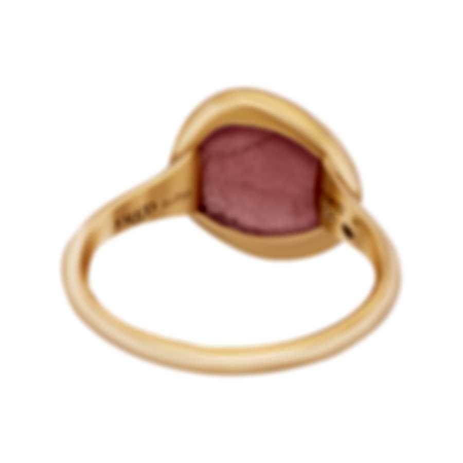 Fred Of Paris 18k Rose Gold Rhodochrosite Belles Rives Ring 4B0926