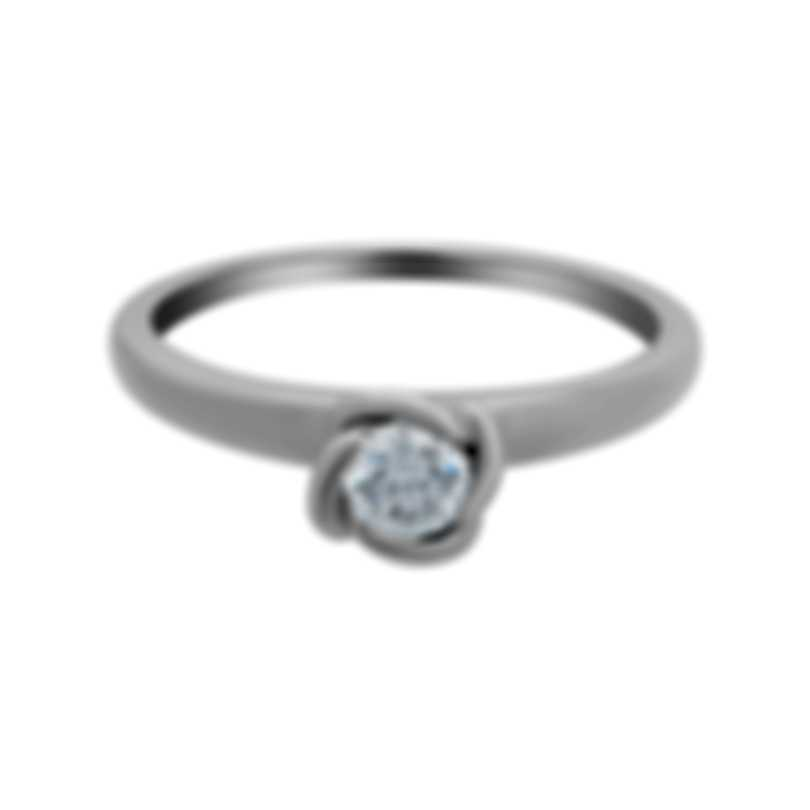 Fred Of Paris Fleur Celeste Platinum Diamond 0.3ct Ring Sz 6.5 24J0686-053