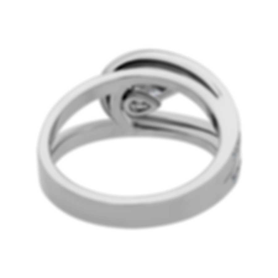 Fred Of Paris Lovelight 18k White Gold Diamond 0.85ct Ring Sz 4.75 24J0735-049