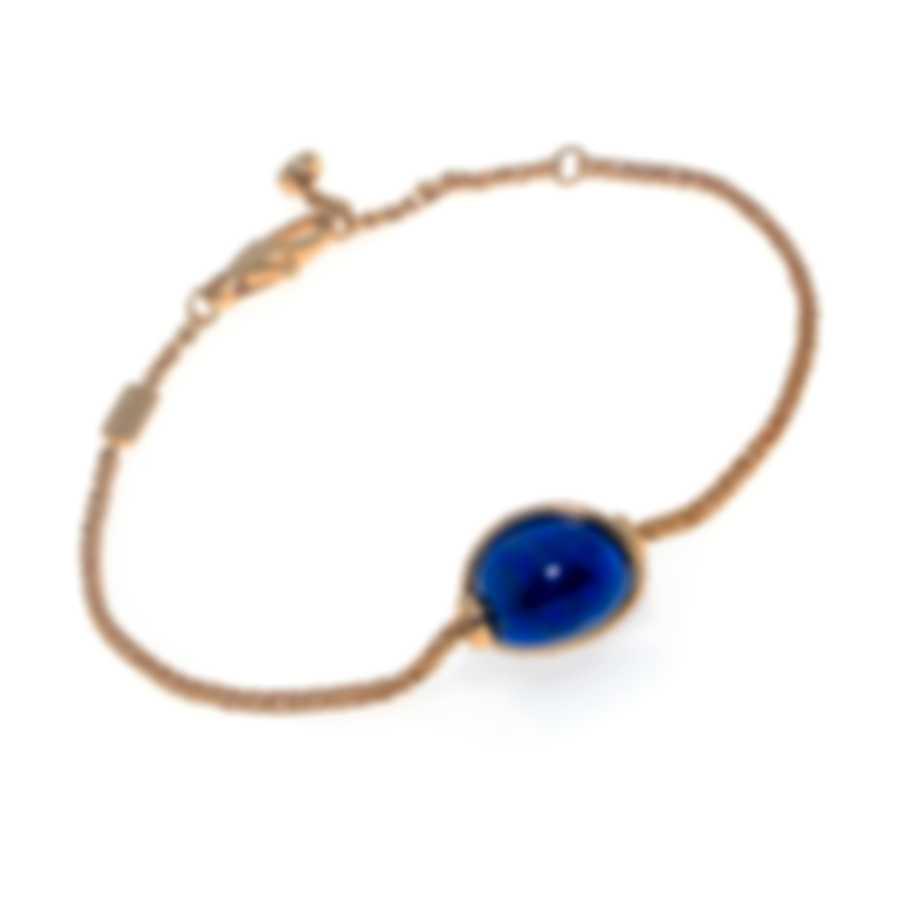 Fred Of Paris Baie Des Anges 18k Yellow Gold Diamond & Lapis Lazuli Bracelet