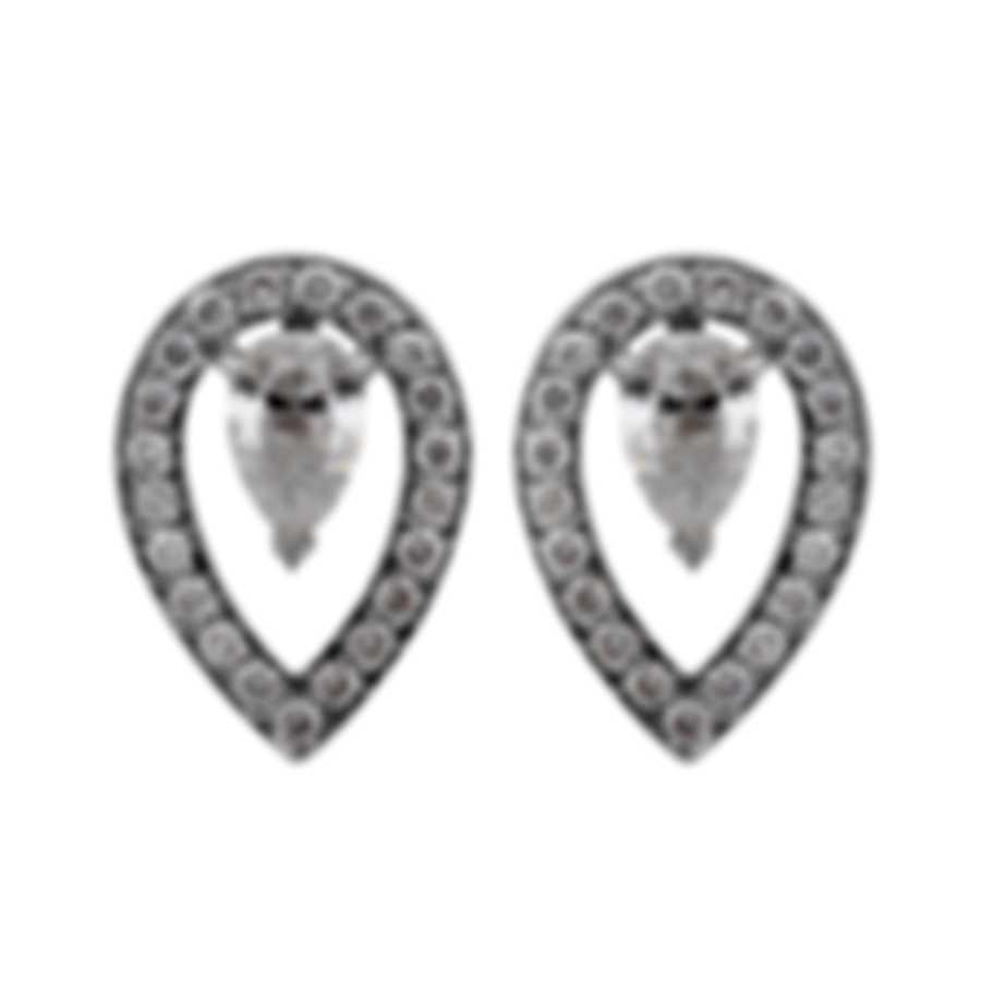 Fred Of Paris Lovelight 18k White Gold Diamond 0.84ct Earrings 8B0260-000