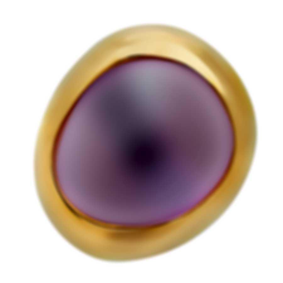 Fred Of Paris 18k Rose Gold & Amethyst Belles Rives Mono Earring 8B0274-000