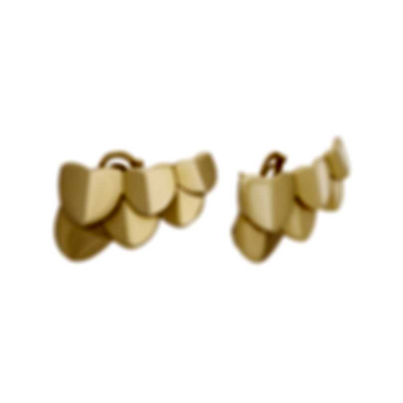 Fred Of Paris 18k Yellow Gold Une Ile D'or Earrings 8B0225-000
