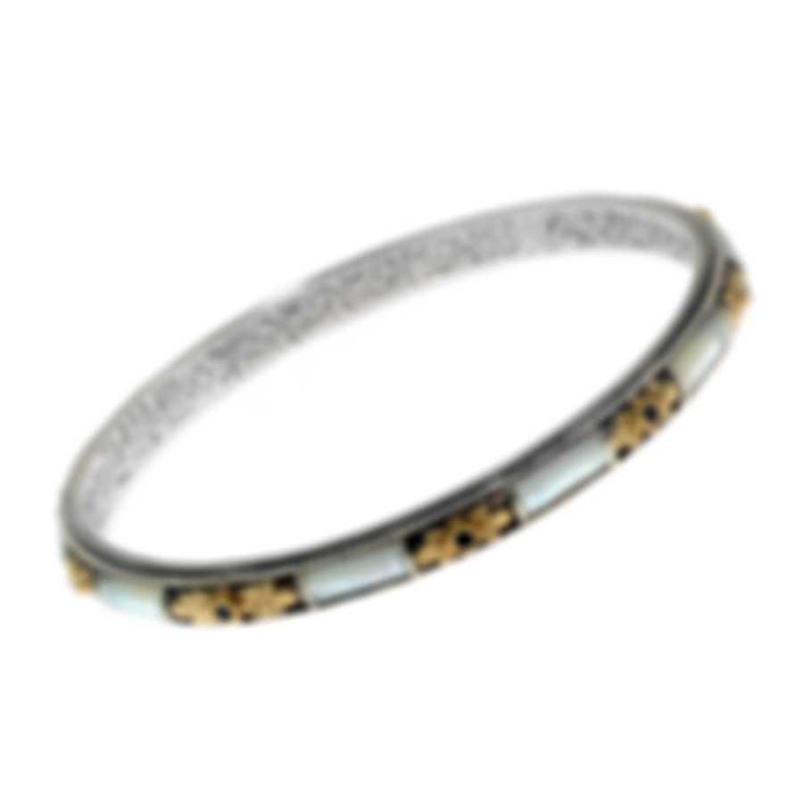 Konstantino Ismene Sterling Silver & 18k Gold & Mother Of Pearl Bracelet BKJ490