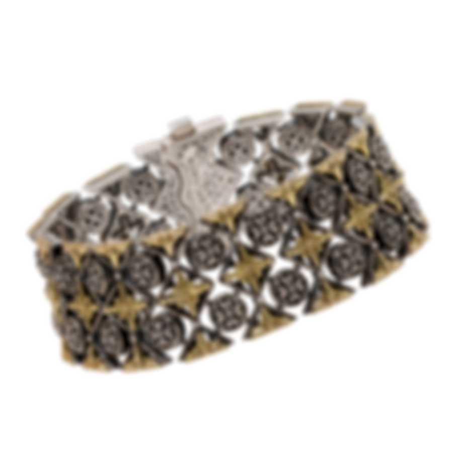 Konstantino Penelope Sterling Silver And 18k Yellow Gold Bracelet BKJ545-130