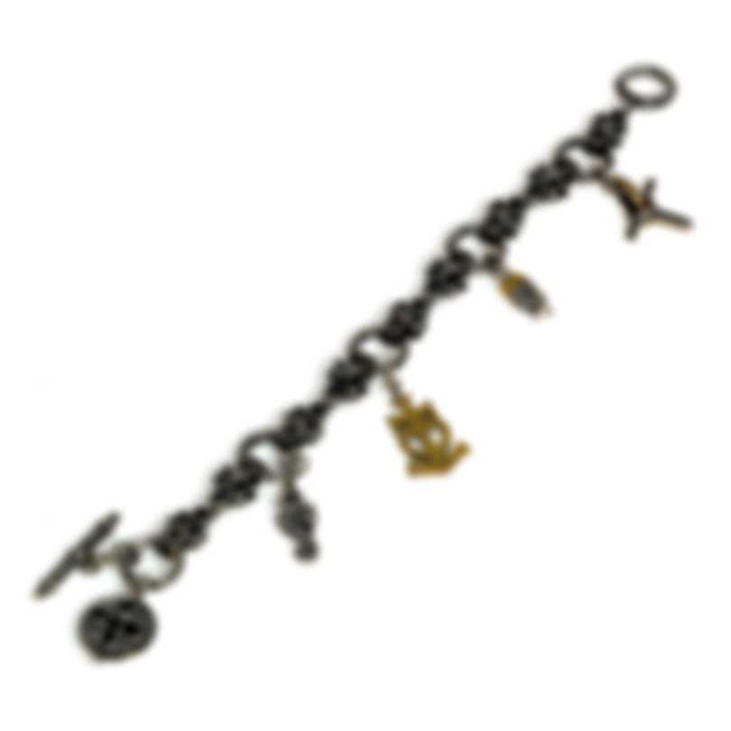 Konstantino GAIA Sterling Silver Bracelet BKJ582-130