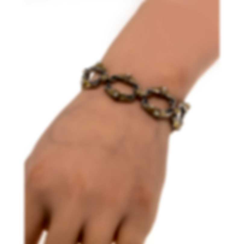 Konstantino Amphitrite Sterling Silver & 18k Yellow Gold Pearl Bracelet BKJ504