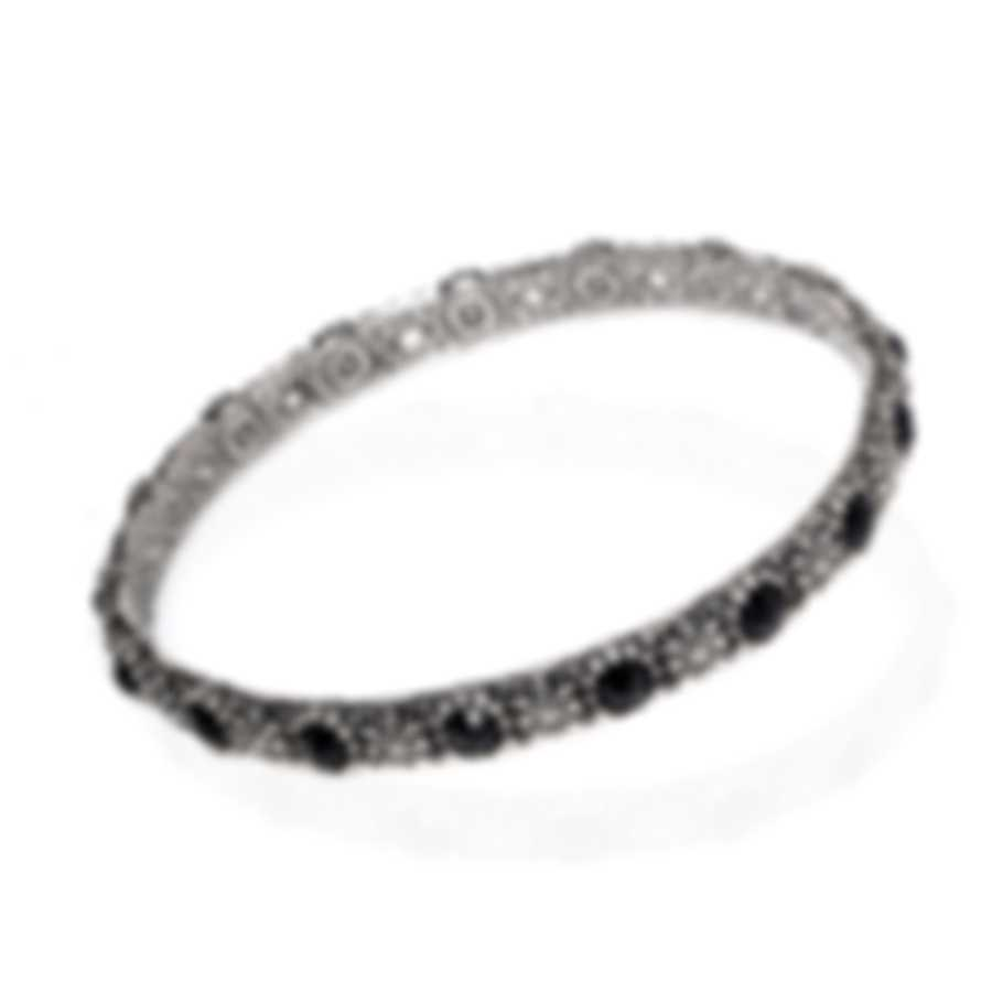 Konstantino Sterling Silver And Onyx Bracelet BMK4237-120-CUT
