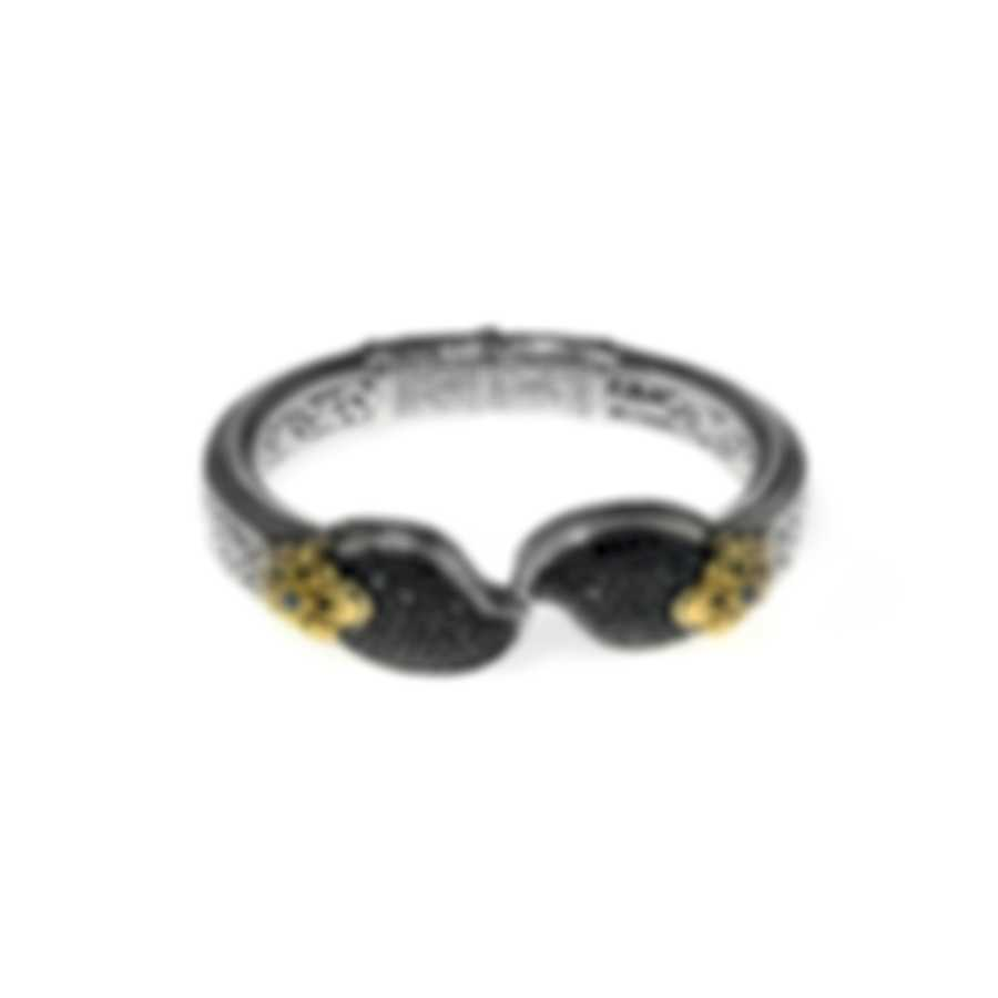 Konstantino Arsinoe Sterling Silver & 18k Gold Diamond 2.74ct Bracelet BMK4240