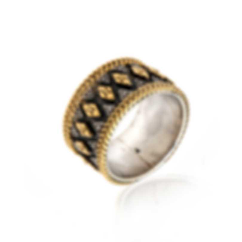 Konstantino Sterling Silver Ring Sz 7 DKJ695-130