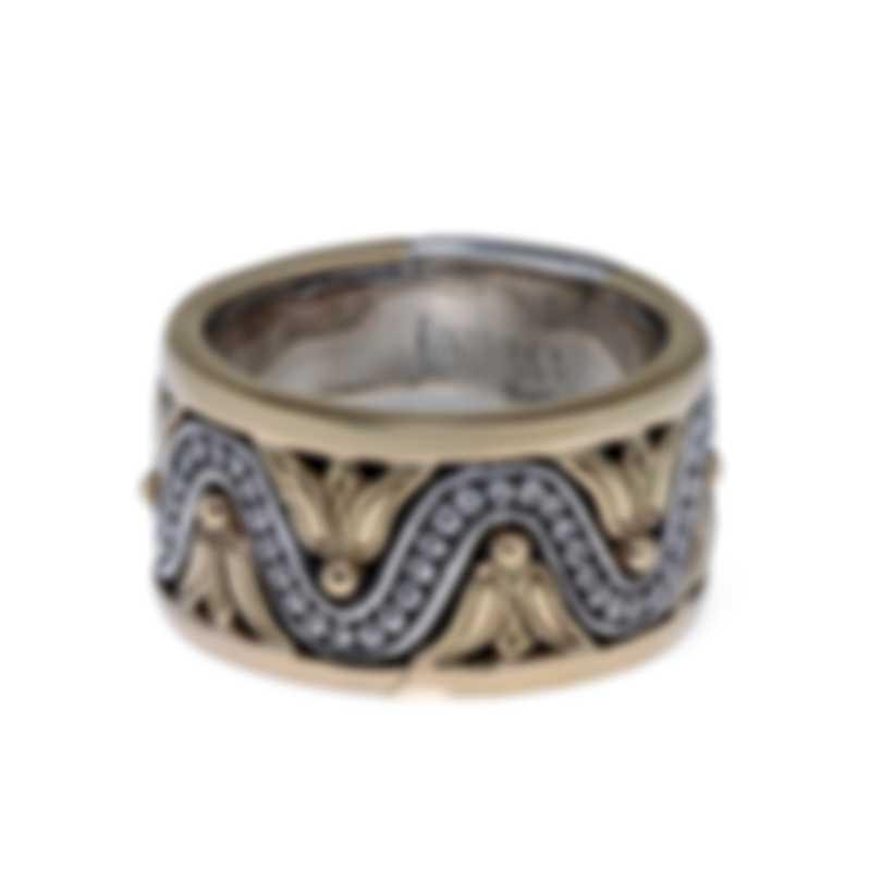 Konstantino HEBE Sterling Silver Ring Sz 7 DKJ704-130