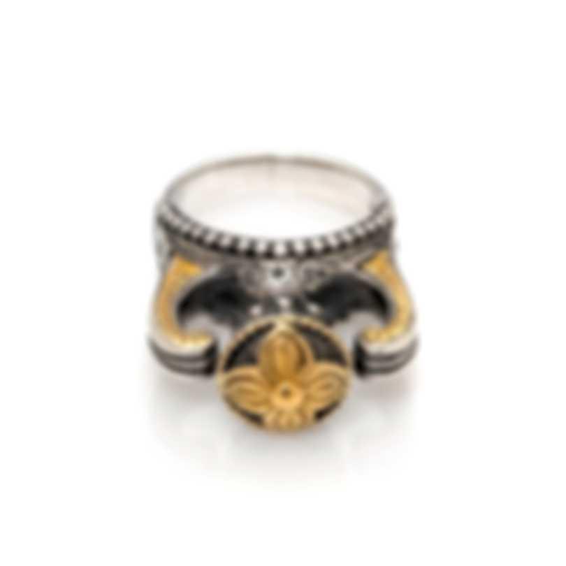 Konstantino HEBE Sterling Silver Ring Sz 7.25 DKJ706-130