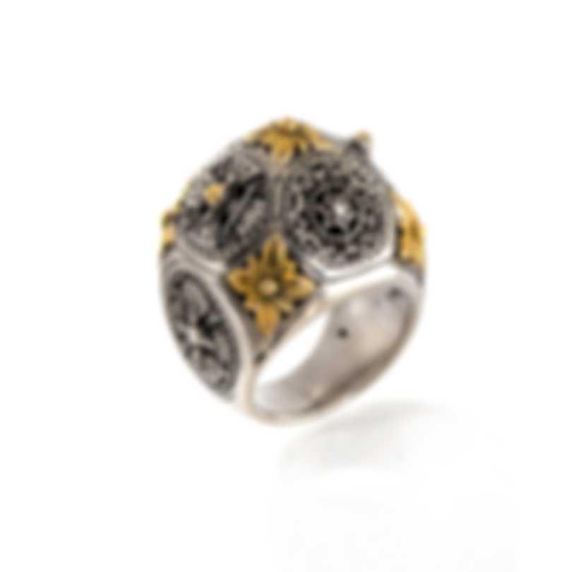 Konstantino PENELOPE Sterling Silver Ring Sz 6.5 DKJ714-130 S6