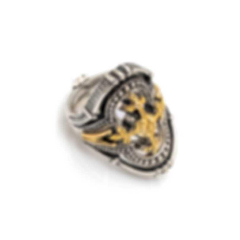 Konstantino Sterling Silver Ring Sz 6.5 DKJ724-130