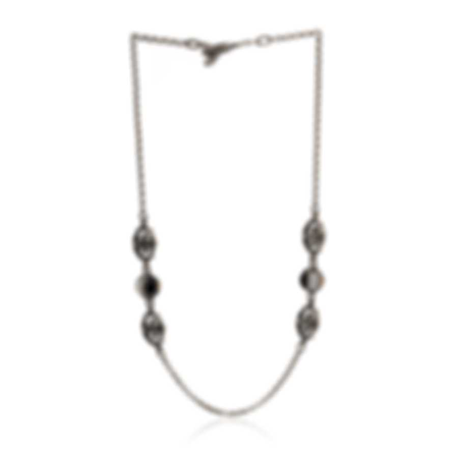 Konstantino Thetis Sterling Silver And White Agate Necklace KOKJ463-457