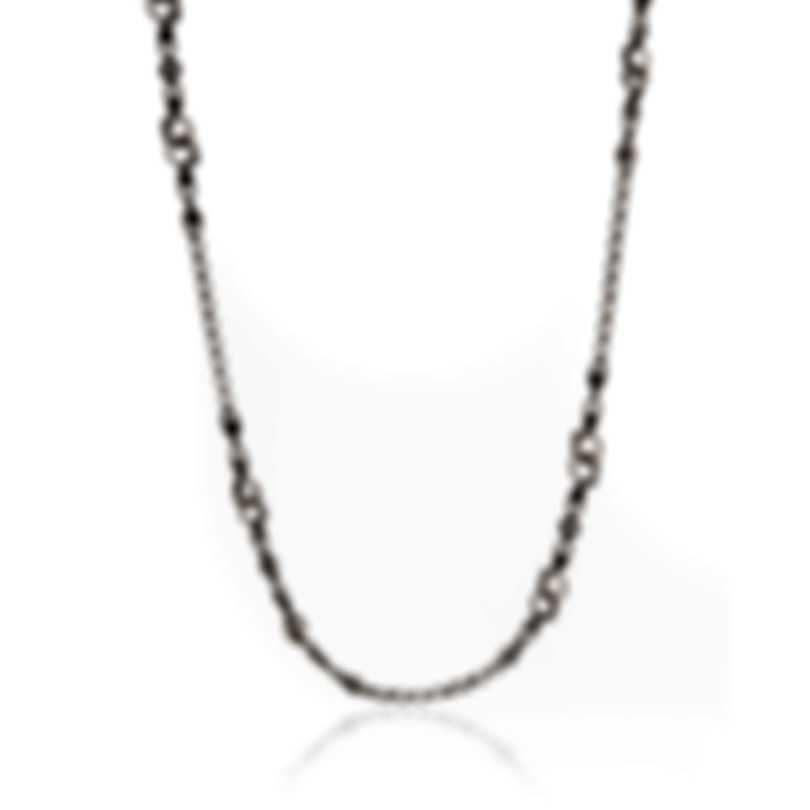 Konstantino ILIADA Sterling Silver Necklace KOMK4664-130-28 4U