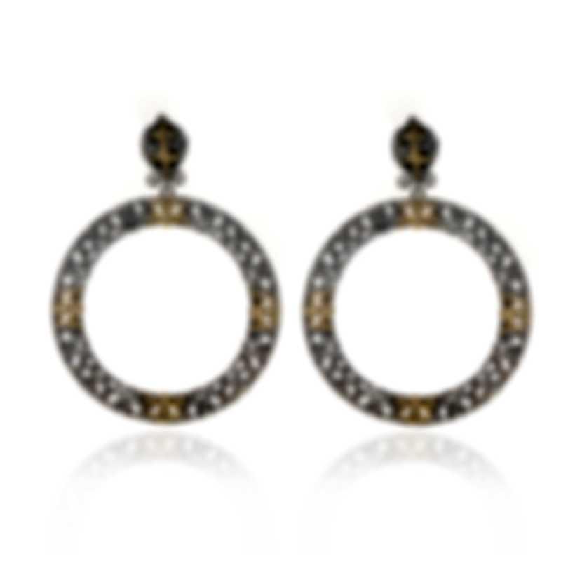 Konstantino Eros Sterling Silver And 18k Yellow Gold Earrings SKKJ524-130