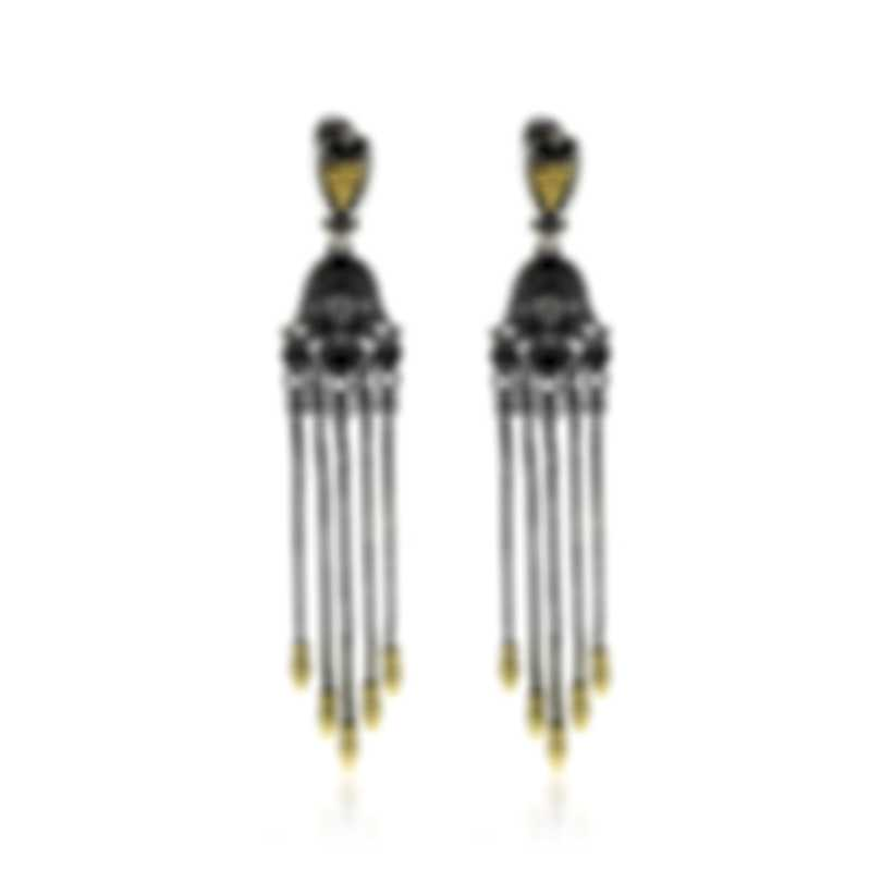 Konstantino Penelope Sterling Silver And 18k Yellow Gold Earrings SKKJ584-130