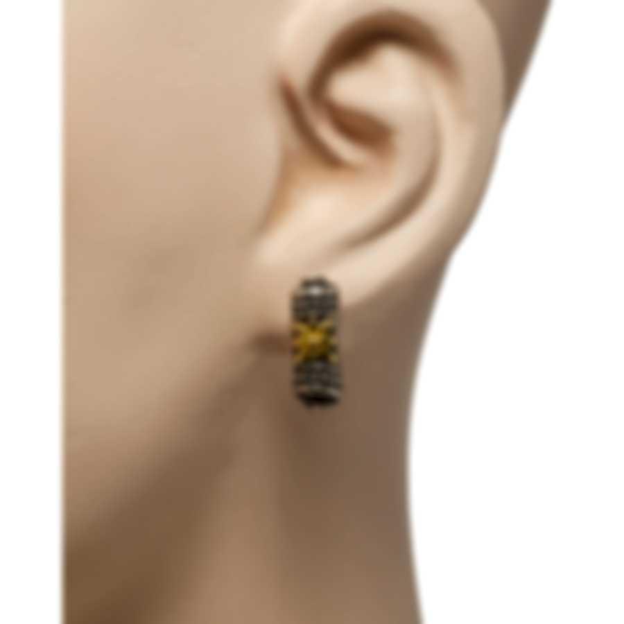 Konstantino Penelope Sterling Silver And 18k Yellow Gold Earrings SKKJ590-130