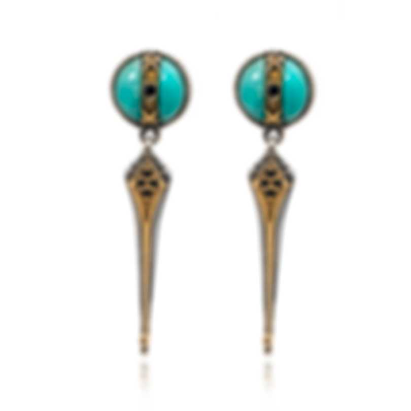 Konstantino THETIS Sterling Silver And Amazonite Earrings SKKJ612-407