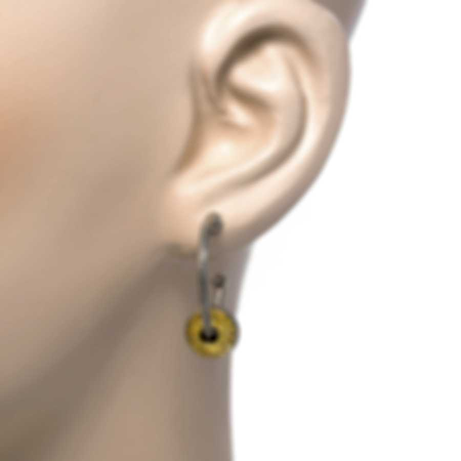 Konstantino Sterling Silver And 18k Yellow Gold Earrings SKKJ616-130