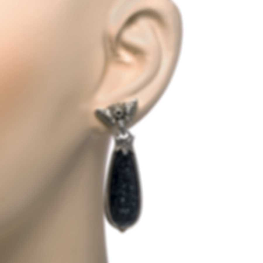 Konstantino Sterling Silver And Hematite Earrings SKKJ626-131-420