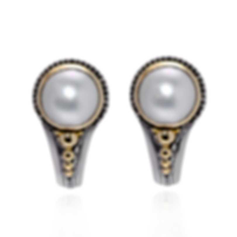 Konstantino Sterling Silver And Pearl Earrings SKKJ341-122
