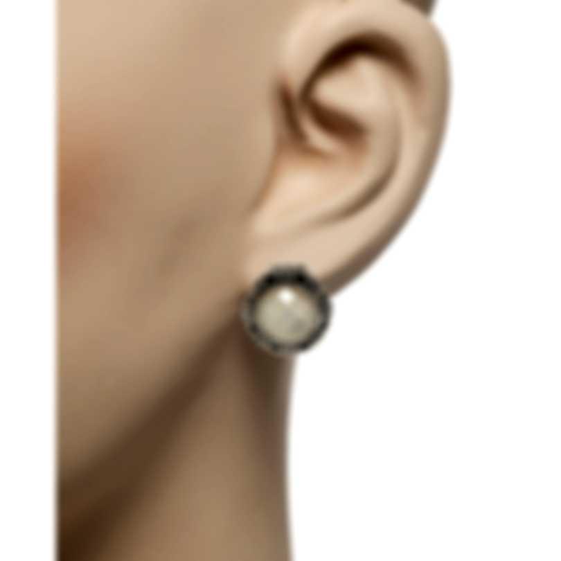 Konstantino Selene Sterling Silver & Mother Of Pearl Earrings SKMK2981-117-CUT