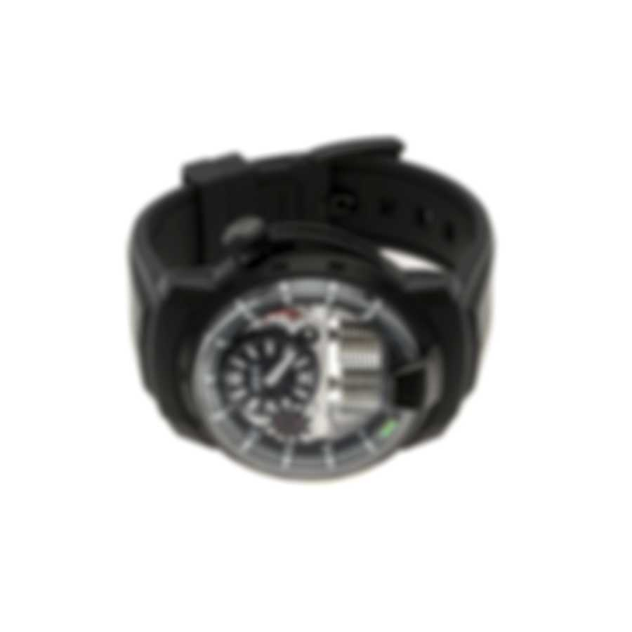 HYT H1 Titanium Black Titanium Manual Wind Men's Watch 148-DL-21-GF-RU