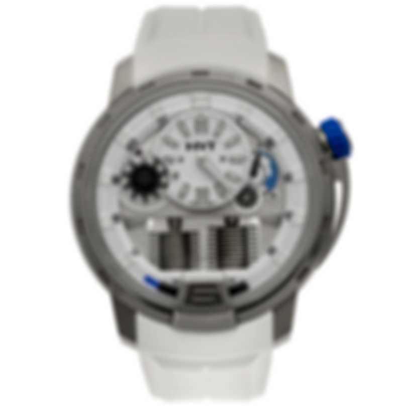HYT H1 Iceberg Titanium Manual Wind Men's Watch 148-TT-11-BF-RW